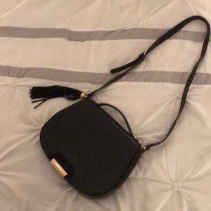 The Limited Black Crossbody